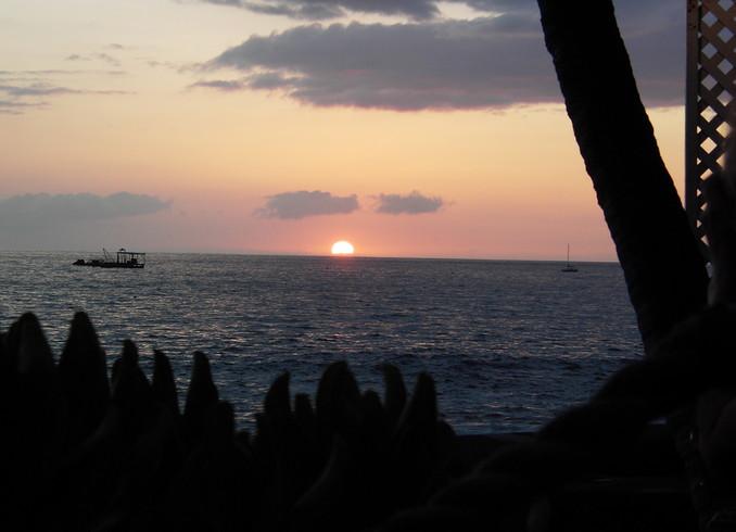 США | Закат. Гаваи.