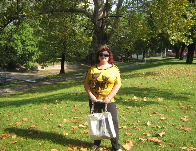 Венгрия | Парк осенью в Будапеште