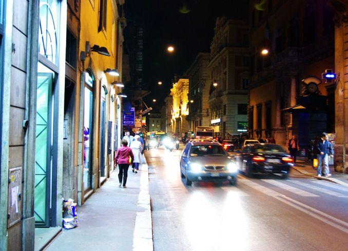 Италия | Rim. Nocinoi gorod
