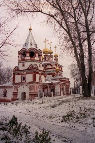 Россия | Соликамск. Пермская область. Богоявленская церковь. (Снимок 2005 г.)
