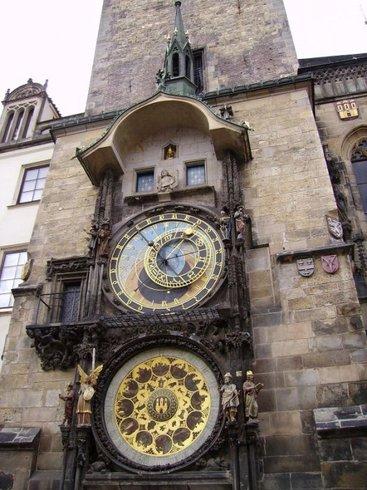 Чехия | Orli - главные часы Праги