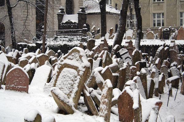 Чехия | старое еврейское кладбище