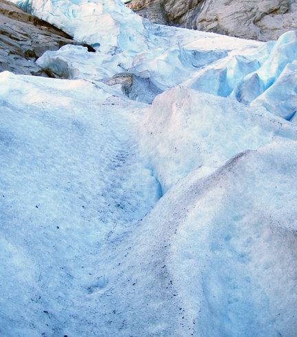 Норвегия |  Ледник Бриксдайл