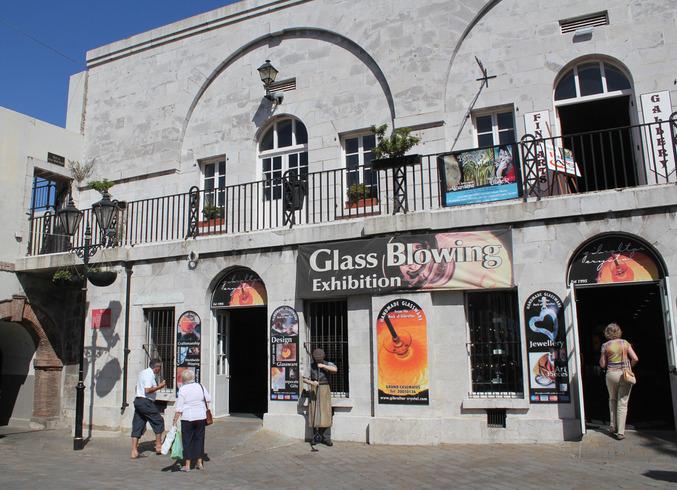 Гибралтар (Брит.)   Полуостров Гибралтар. Стеклодувная мастерская.
