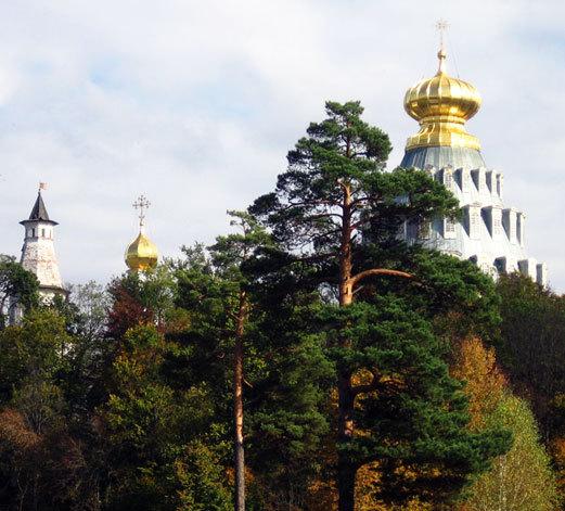 Купола Ново-Иерусалимского монастыря