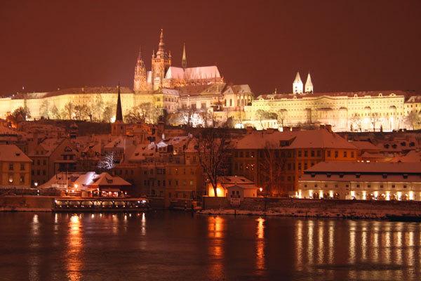 Чехия | Ночная Прага