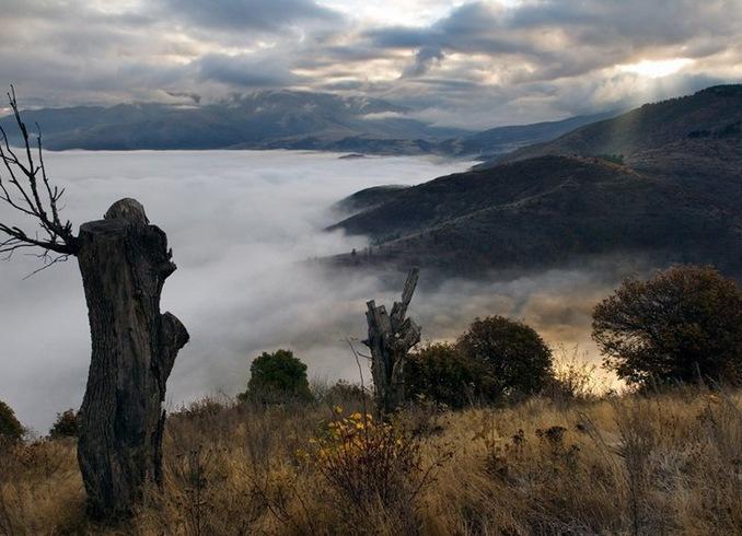 Армения | Ванадзор над облаками