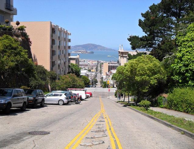 США   Улицы Сан-Франциско