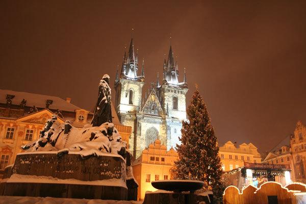 Чехия | Зима в Праге