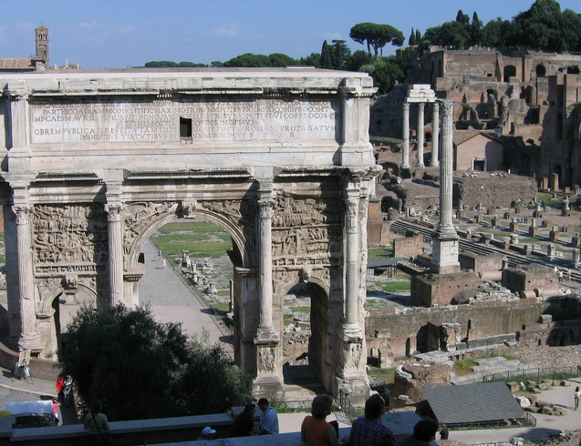 Италия | Форум. Рим.