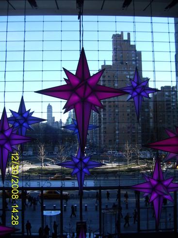 США | Колумбус сентр в Манхетане.