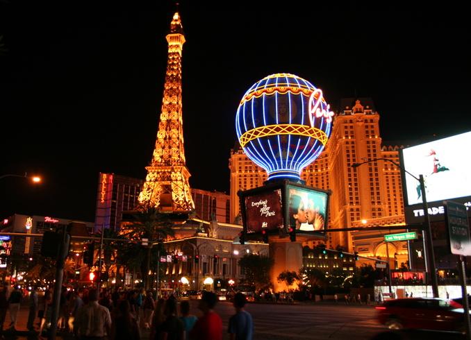 США | Las-Vegas, hotel Paris