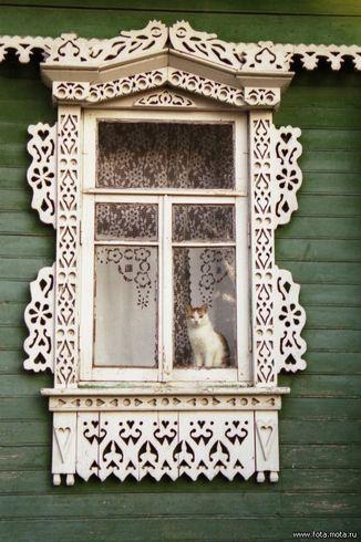 Россия | Деревенский мотив. Фото сделано в Тверской области (2004 г.)