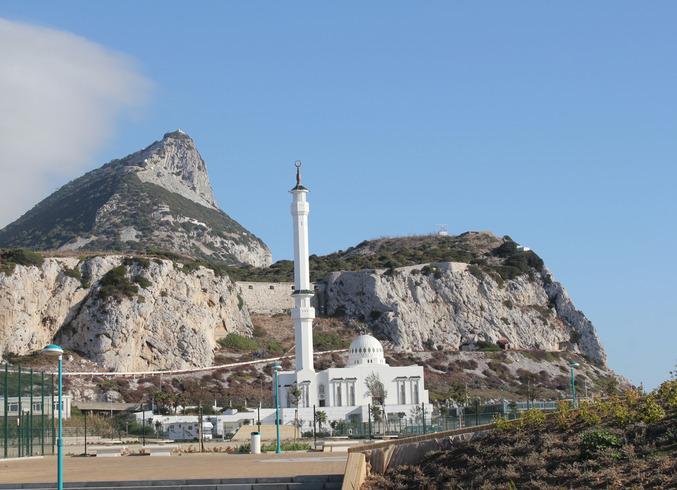 Гибралтар (Брит.) | Полуостров Гибралтар. Мечеть.