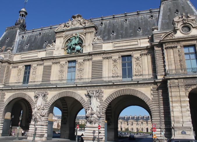 Франция | Париж. Лувр<br>
