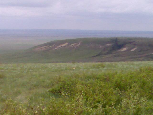 Казахстан | гора Ичка Западно-Казахстанской области-самая высокая точка в рельефе на правобережной части реки Урал в Казахстане.