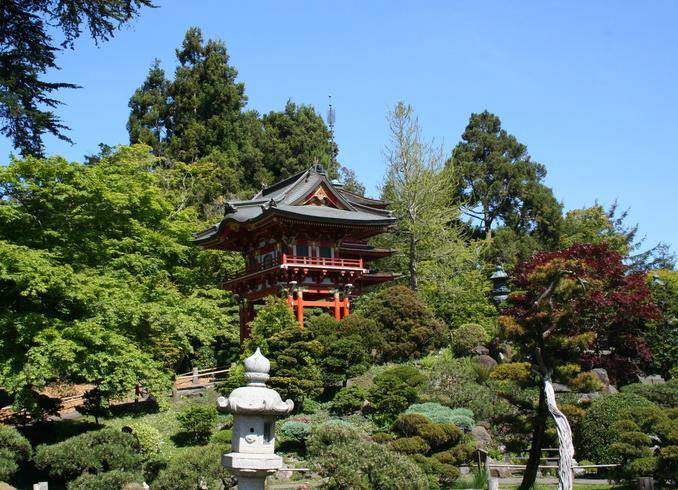 США | Японский сад, Сан-Франциско
