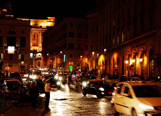 Италия | Rim vecerom