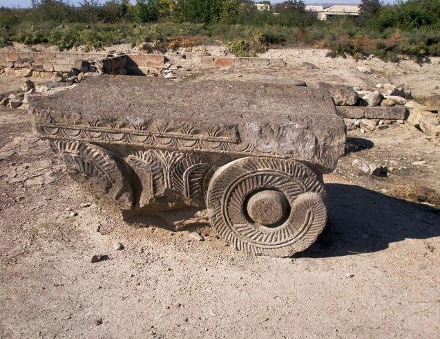 Армения | Руины древнеармянского города Двин