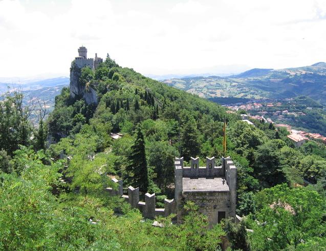 Сан-Марино | Крепость.