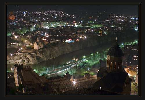 Грузия | OLD TBILISI AT NIGHT