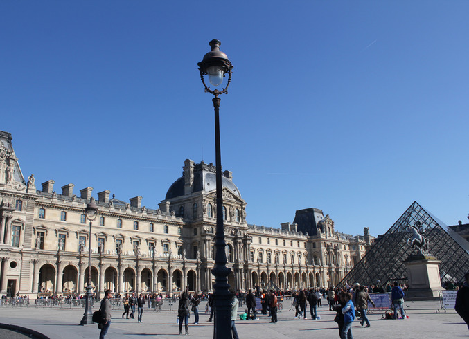 Франция   Париж. Лувр