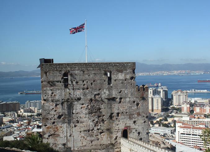 Гибралтар (Брит.)   Полуостров Гибралтар.