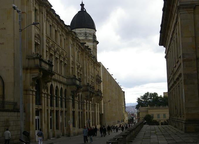 Колумбия   Центр Боготы