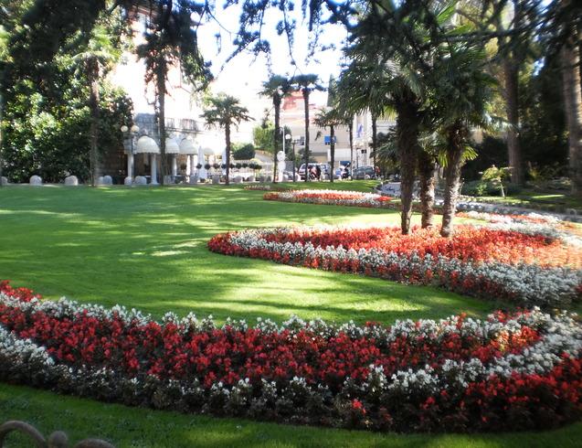 Хорватия | парк в центре города