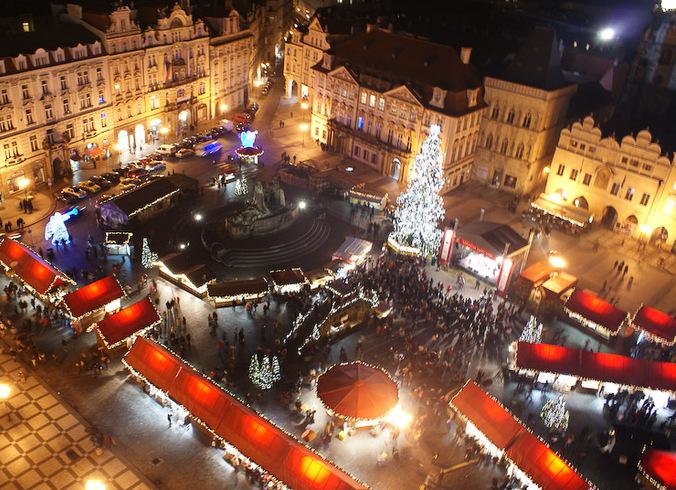 Чехия | Pождество в Праге