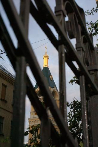 Россия | Москва. Остоженка. Церковь Ильи Пророка.
