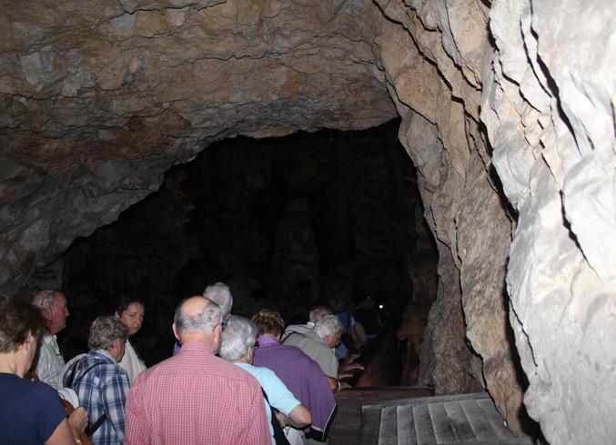 Гибралтар (Брит.) | Полуостров Гибралтар. Пещера Святого Мигеля.