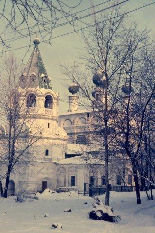 Пермский край, Соликамск. Богоявленская церковь на ул. Набережная.