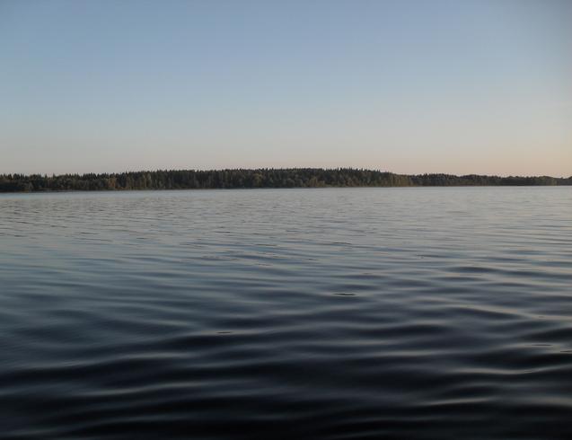 Россия | Озеро Селигер на закате