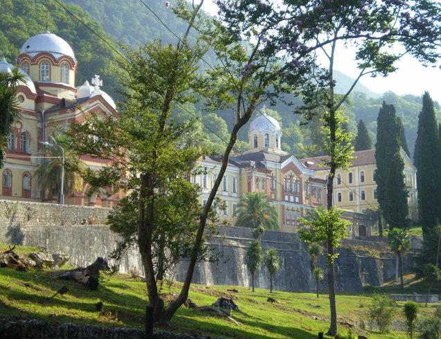 Грузия | Абхазия, Новый Афон, Симоно-Кананитский мужской монастырь, основан в 1875г.