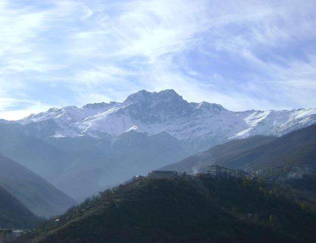 Армения | Гора Хуступ в Капане зимой
