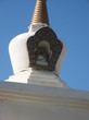 | Элиста. Калмыкия. Ступа как украшение храма Гол-Сюме.