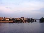 | Прага , Вид с Карлова моста 1