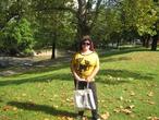 | Парк осенью в Будапеште