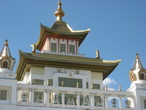 | Покои Далай-Ламы XIV. Храм Гол-Сюме. Элиста. Калмыкия.
