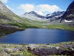 | Норвегия. Горное озеро