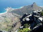   Вид на Кейптаун со Столовой горы