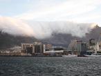   Столовая гора кипит. Кейптаун