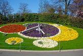 | Цветочные часы в Женеве