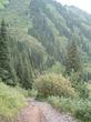 | горная дорога Талгарского района Алматинской области