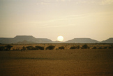 | Sunrise in Tiris SE of Western Sahara