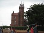 | прибрежный город Устка - маяк