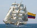 | Учебный колумбийский барк Gloriya.