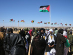 | 35 universary of Saharawi Republic in Tfariti town