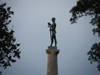 "| символ Белграда - ""Памятник Победителю"", парк Калемагдан"